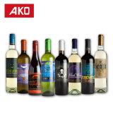 Escritura de la etiqueta caliente de las etiquetas engomadas del vino de la cerveza de la marca de fábrica de Ako de la venta