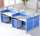 Mobiliário de escritório moderno Office cubículos com estação de Opções