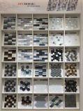 Best-Selling белого цвета из алюминия с шестигранной головкой и стеклянной мозаики на стене (M855357)