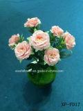 Fiore artificiale/di plastica/di seta Rosa Bush (XF-FD17)