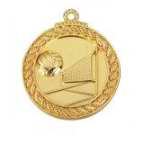 Il marchio su ordinazione poco costoso incide la medaglia in bianco dell'oro