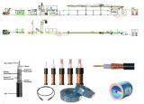 Кабельное телевидение экструзии линии выдавливание машины на провод и кабель