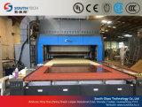 Cadena de producción de doblez curvada cruz del vidrio Tempered de Southtech (HWG)