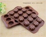 Bonbons de chocolat fondant au moule & moule silicone