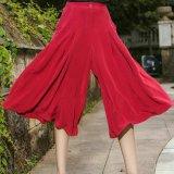 Pantaloni lunghi della parte inferiore di Bell delle donne di modo