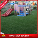China Proveedor Jardín alfombra de césped artificial