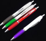 Penna a sfera promozionale di plastica con il marchio dell'OEM
