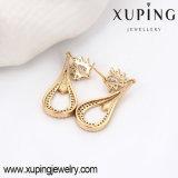 91388 моды элегантный CZ Diamond раунда 18k Earring Gold-Plated имитация ювелирных изделий