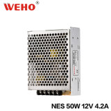 Stromversorgung Ein-Output-IP20 12V Nes-50 SMPS
