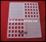 Dépolie terne de la plaque de silice de verre de quartz poli