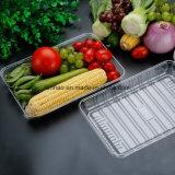 Caixa plástica do empacotamento de alimento da parte superior da alta qualidade PVC/PP/Pet para a fruta
