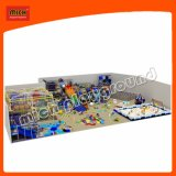 1000 квадратных метров и большой детский центр с лабиринт, песок, веревку курс