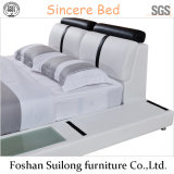 جلد حديثة حقيقيّ حديثة سرير سرير أثاث لازم 8002