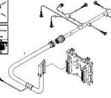 De Uitrusting van de kabel voor Dieselmotor Bfm1015
