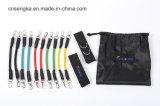 Fabbrica cinetica del tubo di lattice del Taekwondo delle fasce del bottino di addestramento del piedino di velocità