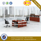 Modern Office Furniture L Shape Executive Office Table (HX-CRV009)