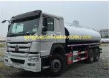 Sinotruk HOWO 6X4 371HP 20cubic 물 탱크 트럭