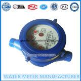 Mètre magnétique d'activité de l'eau de gicleur multi en plastique de corps d'ABS