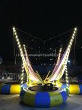 Equipos de juego Bungee Jumping trampolín para los niños y adultos