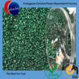 Gummiplastikfarben-Grün rote Masterbatch Tabletten der Chemikalien-LDPE/HDPE