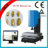 Instrument de mesure de vidéo grand ou petit CNC avec table en métal blanc