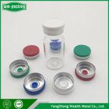 Flacon en verre Flip au large du Cap d'injection d'antibiotiques