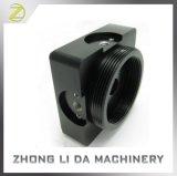 OEM/ODM CNC製粉アルミニウム6061黒く堅い陽極酸化されたUSBの箱の電話裏表紙フレームのカメラベース
