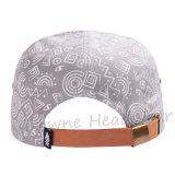 Кнопка назад плоское пиковое изготовленный на заказ Emb. Шлем крышки хлопка