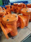 Китай производство чугуна ковких чугунных тройник корзиночном фильтре с помощью фланцевых заканчивается