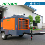 300 Cfm 10 бар дизельный винтовой компрессор с приводом от двигателя