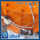 Didtek pneumatischer Flansch Wcb Absperrschieber für Raffinerie