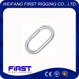 Le mousqueton droites/électrique/de galvanisation en acier inoxydable AISI 304-316