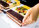 Best Seller nuevo diseño en ángulo decorar tortas hielo espátula