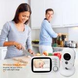 야간 시계를 가진 Vb603 2.4GHz 3.2inch LCD 디스플레이 무선 아기 영상 모니터