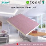 Cartón yeso decorativo de la mampostería seca del material de construcción/cartón yeso del Fireshield para Project-10mm