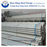 BS1387 Galvanizado en caliente tubo redondo de acero