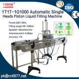 Tête simple automatique Machine de remplissage de liquide de piston pour les boissons (yt1T-1G1000)