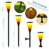 Лучшие продажи пожарных пламя Balze солнечной лужайке настенные украшения чашки фонари лампы освещения