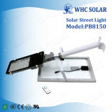 1200lm 50W todo em uma luz de rua solar do diodo emissor de luz para a iluminação ao ar livre