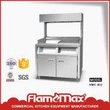Réchauffeur d'étalage de fritures de piédestal (HWC-833)