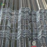 물결 모양 사다리꼴 금속 지붕 갑판