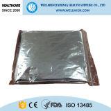 Cobertor de alumínio da emergência do solenóide da prata
