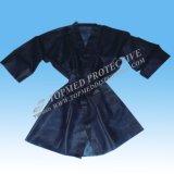 Kimono disponible del Nonwoven SPA/Sauna de la funda corta (SWS0524)
