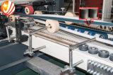 Carpeta automática de alta velocidad Gluer del rectángulo del cartón y grapadora
