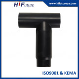 24kV Tee Tipo Silicon Rubber Frente Connector