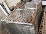 Trous de perforation à six pans Venner en aluminium perforé
