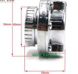 Válvula de escape de plata cromada del regulador 8mm/10m m de la presión de carburante del coche