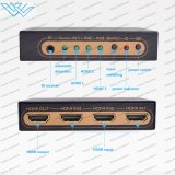 4K 3X1 3 Port-HDMI 1.4 HDMI Audiorangierlok volles HD 1080P durch IR Fernsteuerungs