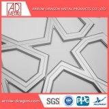 Corte a Laser de painéis de tela de alumínio PVDF/ Partição Mashrabiya// Telas Bi-Folding Divisor de quarto