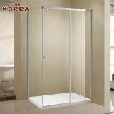 (K-719) Puerta deslizante de la ducha / puerta de la pantalla de cristal